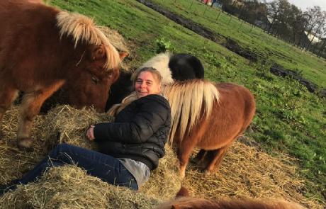 Ponyrijden met Danielle (regio Amsterdam)