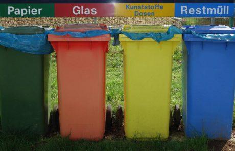 Afval scheiden door proefjes doen
